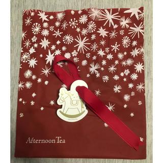 アフタヌーンティー(AfternoonTea)のアフタヌーンティー クリスマスラッピング(ショップ袋)