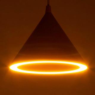 フランフラン(Francfranc)の【美品】FRANC FRANC 新作 トライア ペンダントランプ ピンク(天井照明)