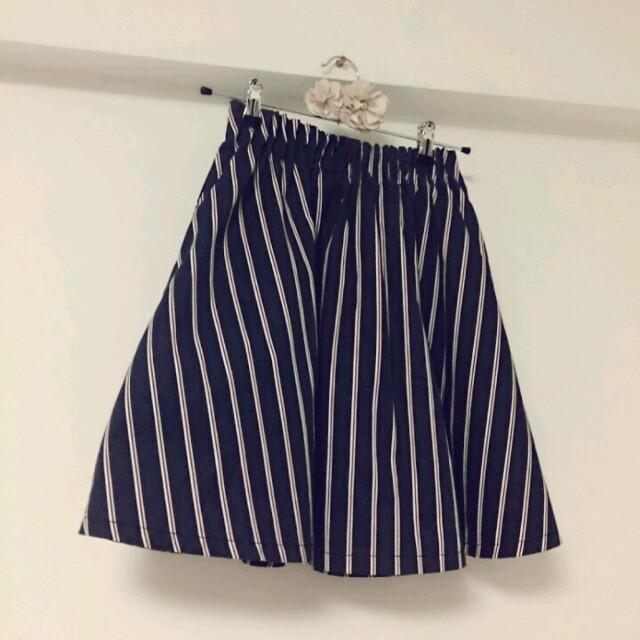 LOWRYS FARM(ローリーズファーム)の【RF】ストライプスカート レディースのスカート(ミニスカート)の商品写真