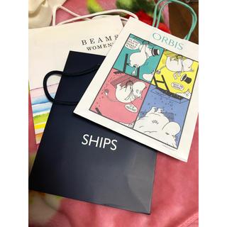 シップス(SHIPS)のショッパー(ショップ袋)