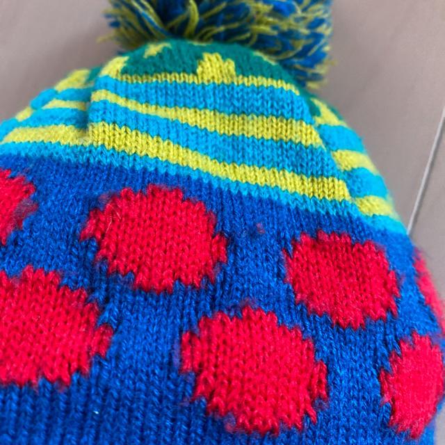 Bit'z(ビッツ)のBit'z ビッツ ニット帽 48-50 キッズ/ベビー/マタニティのこども用ファッション小物(帽子)の商品写真