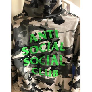 アンチ(ANTI)のantisocialsocialclub  スノーカモパーカー(パーカー)