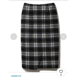 ドロシーズ(DRWCYS)のシャギーチェックタイトスカート ドロシーズ(ひざ丈スカート)
