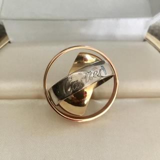 カルティエ(Cartier)のカルティエ トリニティ マストエッセンス リング K18YG WG 17.2g(リング(指輪))