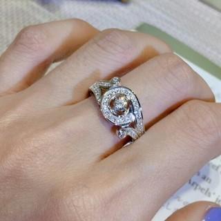 ヴァンクリーフアンドアーペル(Van Cleef & Arpels)の美品VCA リング 指輪 刻印 レディース(リング(指輪))