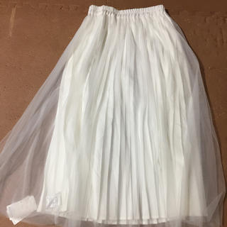 アーバンリサーチ(URBAN RESEARCH)の新品 チュールロングスカート アーバンリサーチ(ロングスカート)