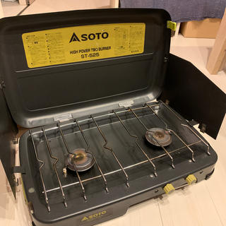 シンフジパートナー(新富士バーナー)のtani様専用 SOTO ツーバーナー ST-525(ストーブ/コンロ)