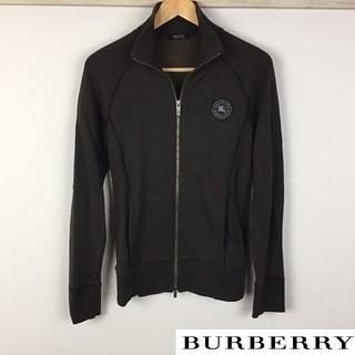 バーバリーブラックレーベル(BURBERRY BLACK LABEL)の美品 BURBERRY BLACK LABEL 長袖スウェット ブラウン(スウェット)