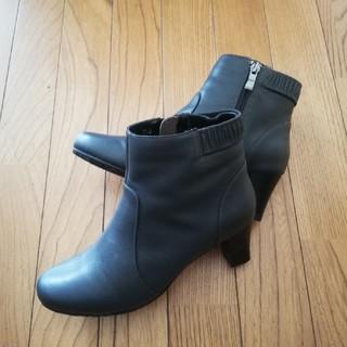 【お値下げしました】新品 本革ショートブーツ(ブーツ)