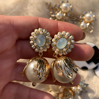 Bijoux tulip pearl(ピアス)