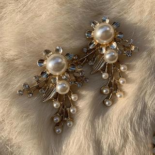 Flower pearl(ピアス)