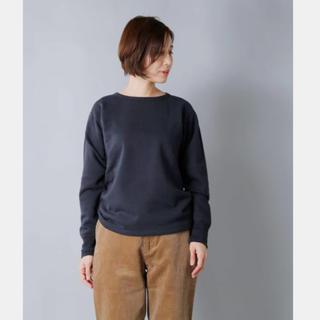 ヤエカ(YAECA)の専用 新品タグ付 LENO(リノ) アーミースウェットシャツ 22,000円(トレーナー/スウェット)