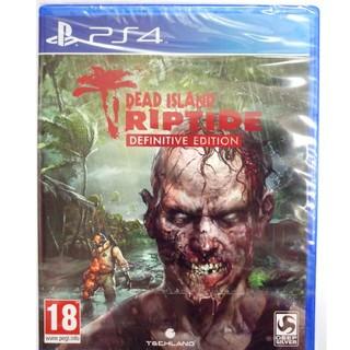 新品 PS4 Deadisland  Riptide difinitive ed(家庭用ゲームソフト)