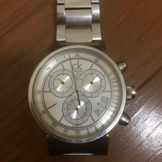 レディスウォッ� - Calvin Klein - Calvin Klein 腕時計 グロノグラフ�通販 by @ゆ〜�'s shop