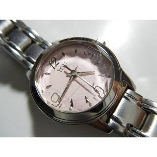オリエント(ORIENT)の動作中 オリエント YOU 腕時計 小さくかわい薄ピンク文字盤 防水(腕時計)