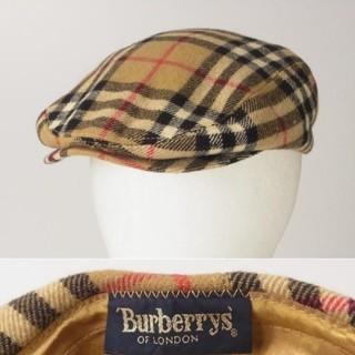 バーバリー(BURBERRY)のバーバリー ハンチング セール(ハンチング/ベレー帽)