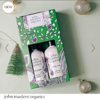 ジョンマスターオーガニック(John Masters Organics)の新品 ジョンマスターオーガニック ウィンターボディケアコフレ 未使用 新作(ボディソープ/石鹸)
