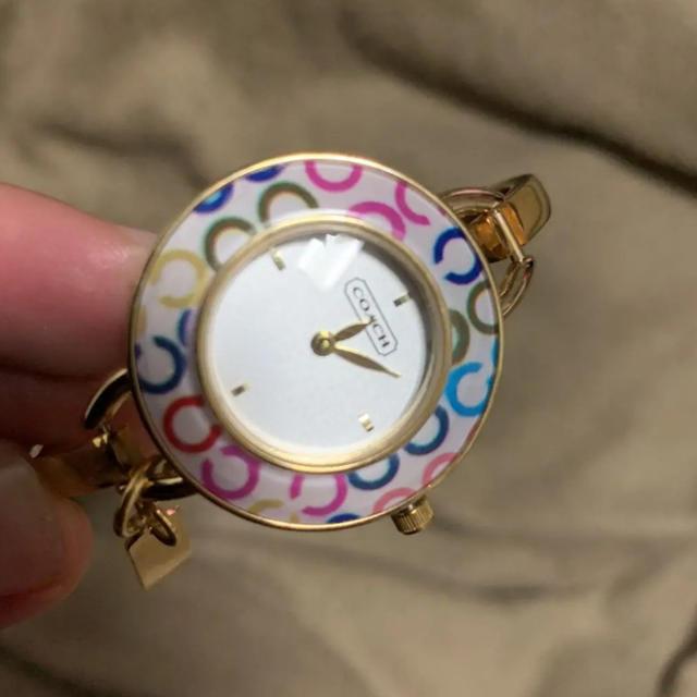 エンジェルハート 時計 偽物 1400 、 COACH - バングルコーチ時計の通販 by BOB shop