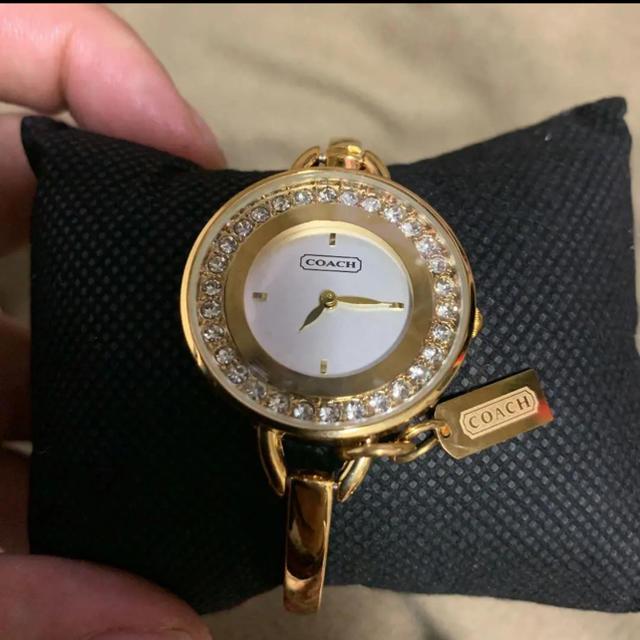 時計 カルティエ メンズ - COACH - バングルコーチ時計の通販 by BOB shop