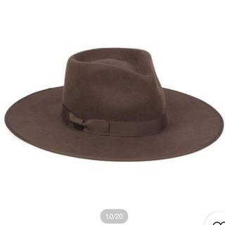 アリシアスタン(ALEXIA STAM)のlack of color hat ブラウン(ハット)
