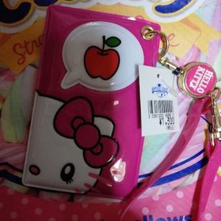 ハローキティ(ハローキティ)のUSJ♡キティ♡チケットホルダー(パスケース)♡サンリオ(パスケース/IDカードホルダー)