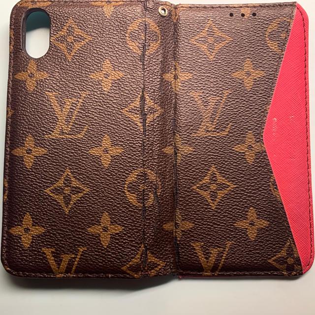 LOUIS VUITTON - 携帯カバー(手帳型)の通販
