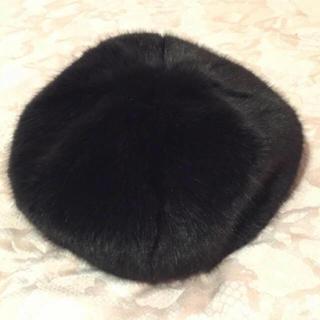 ロキエ(Lochie)のused fake fur béret(ハンチング/ベレー帽)