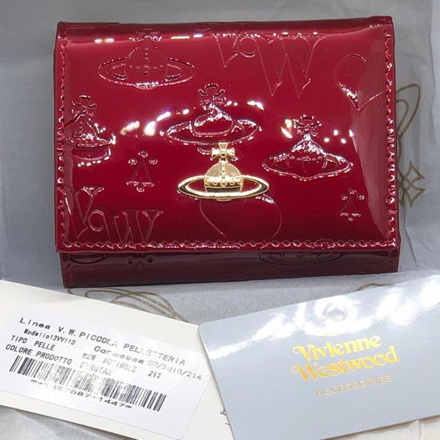 gaga 時計 スーパーコピー2ちゃんねる | Vivienne Westwood - ヴィヴィアンウエストウッド エナメル 三つ折り 財布 レッド 新品未使用の通販 by ぷーちゃん's shop