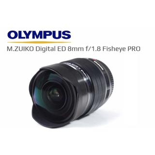 オリンパス(OLYMPUS)の【reddog様専用】新品!M.ZUIKO ED 8mm F1.8 (レンズ(単焦点))