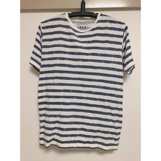 イッカ(ikka)のボーダーTシャツ(Tシャツ(半袖/袖なし))