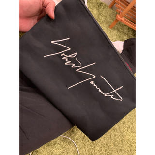 ヨウジヤマモト(Yohji Yamamoto)のヨウジヤマモト クラッチバック(セカンドバッグ/クラッチバッグ)