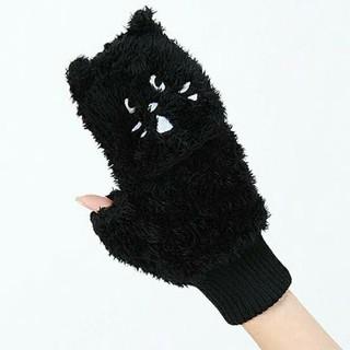 ネネット(Ne-net)のネネット にゃー あったかみとん 手袋 ミトン 黒猫 グッズ【Ne-net】(手袋)