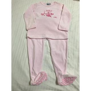 プチバトー(PETIT BATEAU)のパジャマ プチバトー 女の子 ピンク(その他)