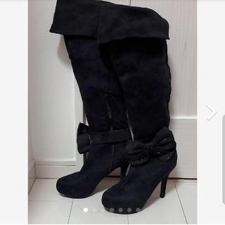 ニーハイブーツ【新品・未使用】(ブーツ)