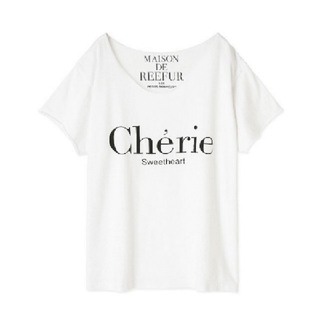 メゾンドリーファー(Maison de Reefur)の完売【MAISON DE REEFUR】メッセージTシャツ(Tシャツ(半袖/袖なし))
