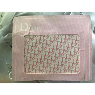 ディオール(Dior)のディオール ロゴ ネイルシール ピンク2枚 dior(ネイル用品)