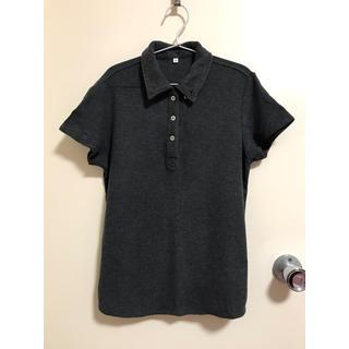 ムジルシリョウヒン(MUJI (無印良品))の無印良品のポロシャツ(グレー)(ポロシャツ)