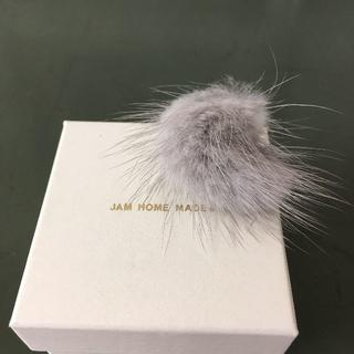 ジャムホームメイドアンドレディメイド(JAM HOME MADE & ready made)のJAM HOME MADE ミンクファー リング USED(リング(指輪))
