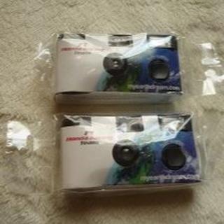 使い捨てカメラ ホンダF1レーシング 非売品 2個セット 未使用品(フィルムカメラ)