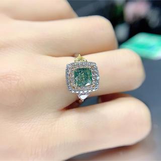 日本初、私物Gia色ダイヤモンド指輪(リング(指輪))