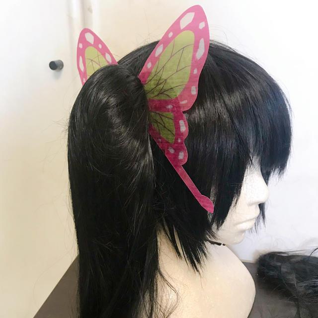 飾り カナヲ 作り方 髪