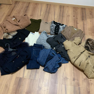 ジーナシス(JEANASIS)のレディース まとめ売り 秋冬(セット/コーデ)