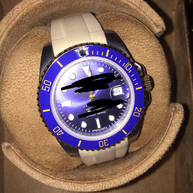 ロレックス 6694 オーバーホール / ROLEX - 自動巻き腕時計 高級 青sabu ラバーベルト 期間限定値下げ!!ぜひ!!の通販 by YUZINO(爆速発送)