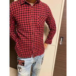 ブラウニー(BROWNY)の赤シャツ チェックシャツ ギンガムチェック(シャツ)