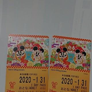 ディズニー(Disney)のhiro様 専用リゾートライン 1デイ  大人2枚(その他)