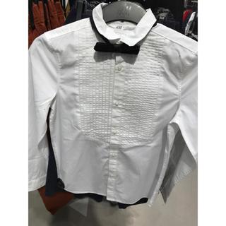 エイチアンドエム(H&M)のH&Mフォーマルシャツ キッズ 男の子 140 フォーマル(ドレス/フォーマル)