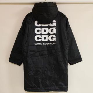 コムデギャルソン(COMME des GARCONS)の新品 コムデギャルソン CDG ボア オーバーコート ブラック(その他)