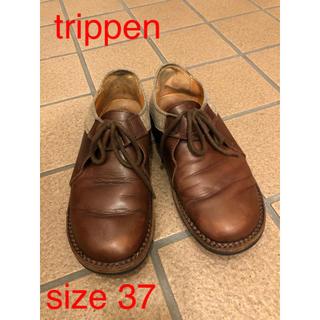 trippen - トリッペン レザー フラット 楽ちん 快適 革靴