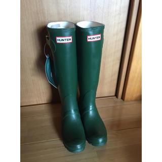 ハンター(HUNTER)のHunter boots (新品) UK3 22-22.5cm(レインブーツ/長靴)