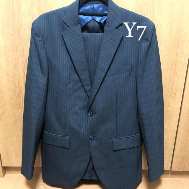ORIHICA(オリヒカ)の【新品未使用サンプル品】メンズ スーツ Y7 黒 ブラックオリヒカ メンズのスーツ(セットアップ)の商品写真